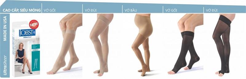 Chọn kích cỡ vớ y khoa theo nhu cầu sử dụng và kích cỡ chân