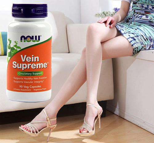 Vein Spreme là sản phẩm giúp ngăn ngừa và hỗ trợ điều trị chứng giãn tĩnh mạch chân hiệu quả