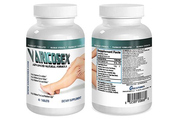 Varicosexlà sản phẩm dạng viên uống giúp hỗ trợ điều trị suy giãn tĩnh mạch chân hiệu quả