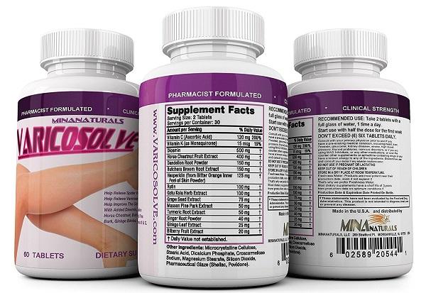 Varicosolve giúp ngăn ngừa giãn tĩnh mạch chân