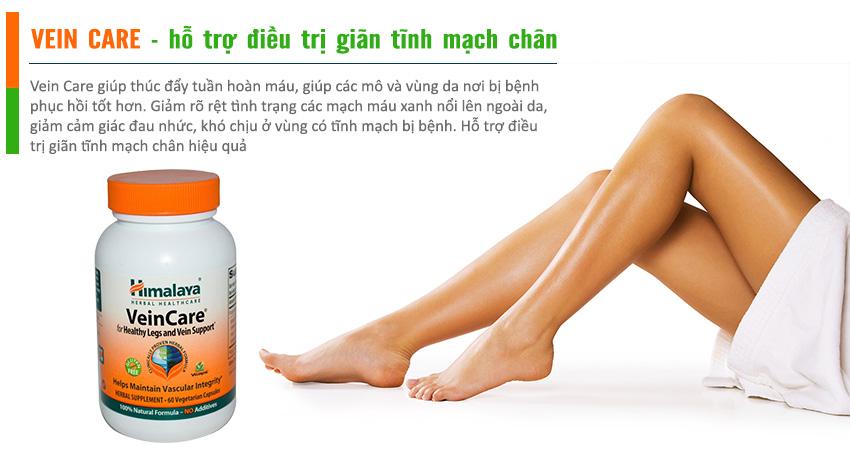Vein Care hỗ trợ điều trị suy giãn tĩnh mạch chân