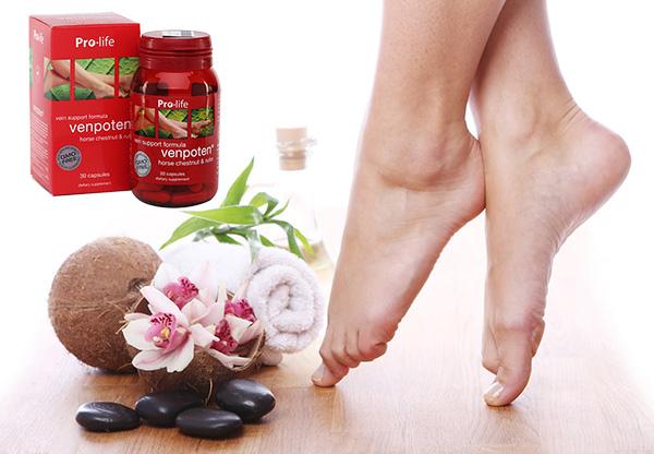 Venpoten bí quyết cho đôi chân khỏe đẹp