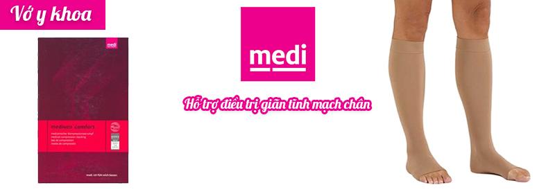 Vớ y khoa Mediven Comforthỗ trợ điều trị giãn tĩnh mạch
