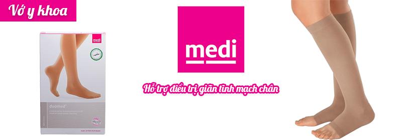 Vớ y khoa Medi Duomed hỗ trợ điều trị giãn tĩnh mạch