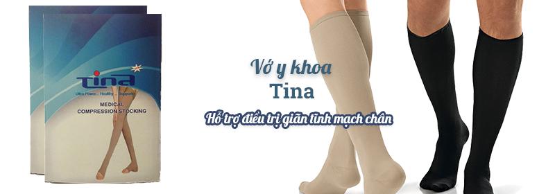 Vớ y khoa Tinahỗ trợ điều trị giãn tĩnh mạch