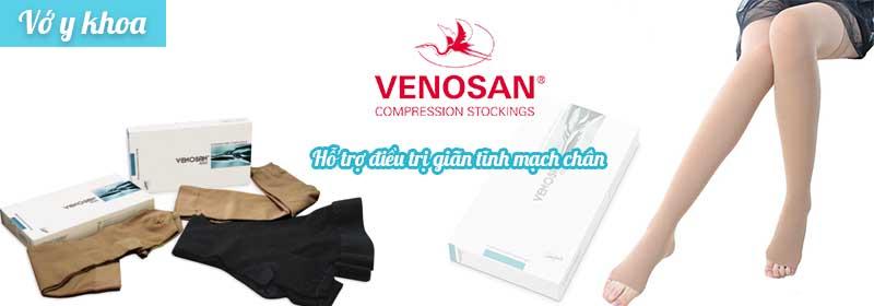 Vớ y khoa Venosan 6000 hỗ trợ điều trị giãn tĩnh mạch