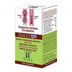 Viên uống DULCIT hỗ trợ điều trị giãn tĩnh mạch chân